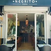 foto de restaurante negrito condesa