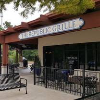 photo of the republic grille-panther creek restaurant