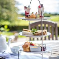 photo of afternoon tea at barnham broom restaurant