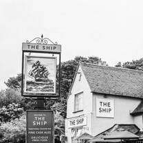 photo of the ship restaurant