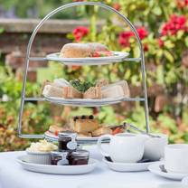 photo of afternoon tea at bartley lodge hotel restaurant