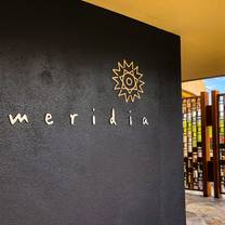 photo of meridia restaurant
