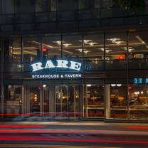 photo of rare steakhouse - washington dc restaurant