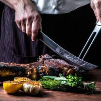 photo of sidecut modern steak + bar at four seasons resort whistler restaurant