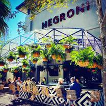 photo of negroni restaurant
