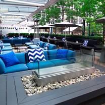 photo of deq terrace & lounge - the ritz-carlton, toronto restaurant