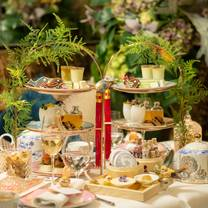 photo of the chinese whispers afternoon tea at kai restaurant