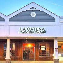 photo of la catena italian restaurant restaurant