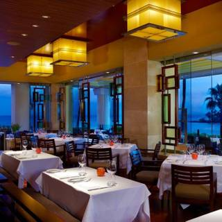 Wolfgang Puck's Spago in the Four Seasons Resort Maui