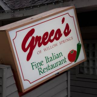 Greco's of Willow Springs