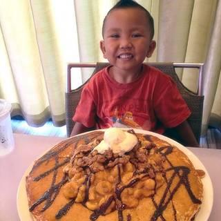 Boy with Pancake - M.A.C. 24/7, Honolulu, HI