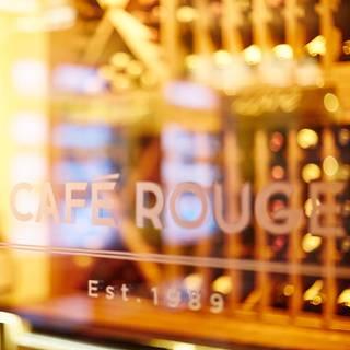 Cafe Rouge London Canary Wharf