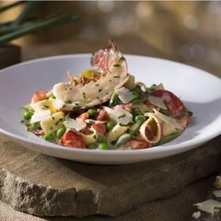 Lobster Pappardelle - Seasons 52 - Cincinnati, Cincinnati, OH