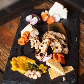Happy Hour Cheese Plate - Zero Restaurant + Bar, Charleston, SC