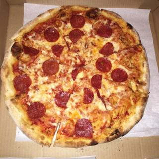 Pepperoni Pizza - Luisa's Pizza & Pasta, San Francisco, CA