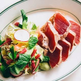 Seared Ahi Tuna Salad - Joe's Seafood, Prime Steak & Stone Crab - Washington DC, Washington, DC