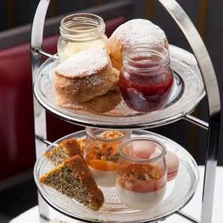 Afternoon Tea at The Gilbert Scott Bar