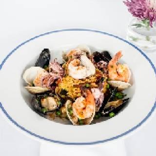 Seafood Paella - Parizade, Durham, NC