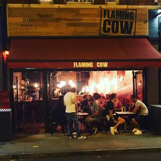 Flaming Cow