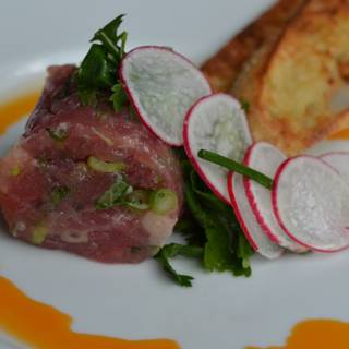 Tuna Tartare With Ginger Lime And Shiso - Cafe Lurcat - Minneapolis, Minneapolis, MN