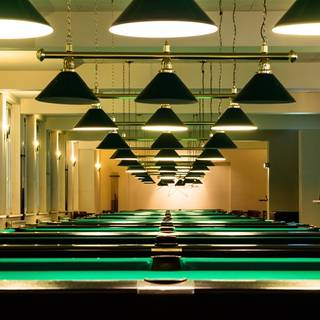Cafe Moskau - Billard Area