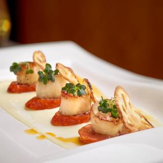 Scallop Appetizer - Madison's Grill - Union Bank Inn, Edmonton, AB