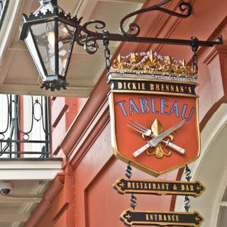 Tableau Sign - Tableau, New Orleans, LA