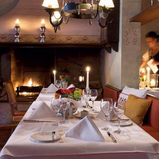 Restaurant August und Maria im Brauereigasthof Hotel Aying
