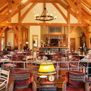 Cathedral Mountain Lodge Riverside Dining Room