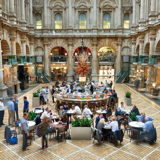 Japanese Afternoon Tea at The Royal Exchange