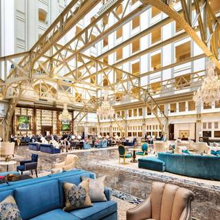 Benjamin's Bar & Lounge at Trump International Hotel