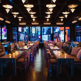 100 Restaurants Available Nearby R Lounge At Two Times Square