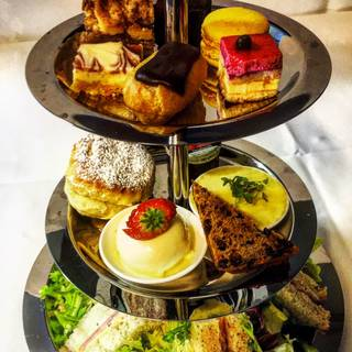 Afternoon Tea at Plas Maenan Country House – Restaurant on the Rock