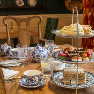 Afternoon Tea @ The Old Bell Hotel