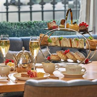 Afternoon Tea at Roba Bar & Restaurant