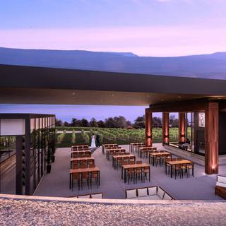 BLOCK ONE Restaurant at 50th Parallel Winery