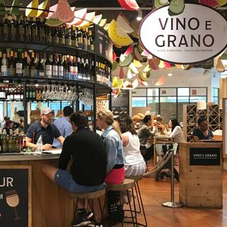 Vino e Grano - Eataly Downtown NYC