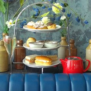 Afternoon Tea at Bryn Williams at Porth Eirias