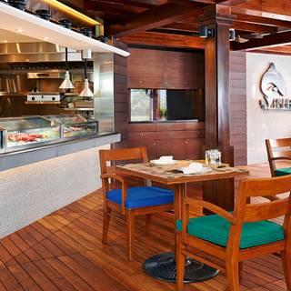 Fish Bar Jw Marriott Hotel Hong Kong