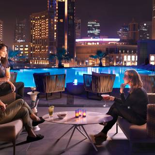 Urban Lounge - InterContinental Dubai Marina
