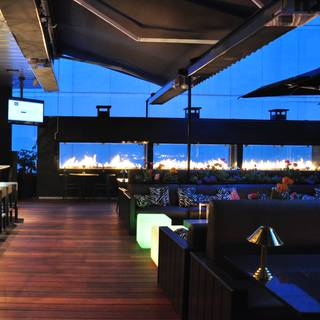 The Roof at Black & Blue