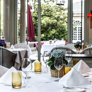Wintergarten im Brenners Park Hotel