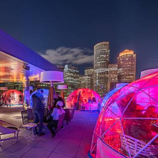 Igloos @ Lookout Rooftop Bar