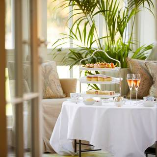 Afternoon Tea at the Drawing Room at Coworth Park