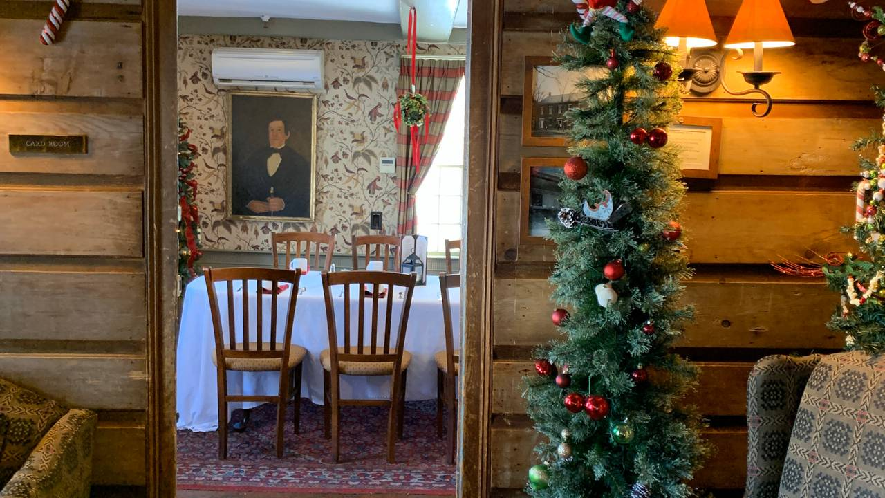 public dining room christmas lunch 2019
