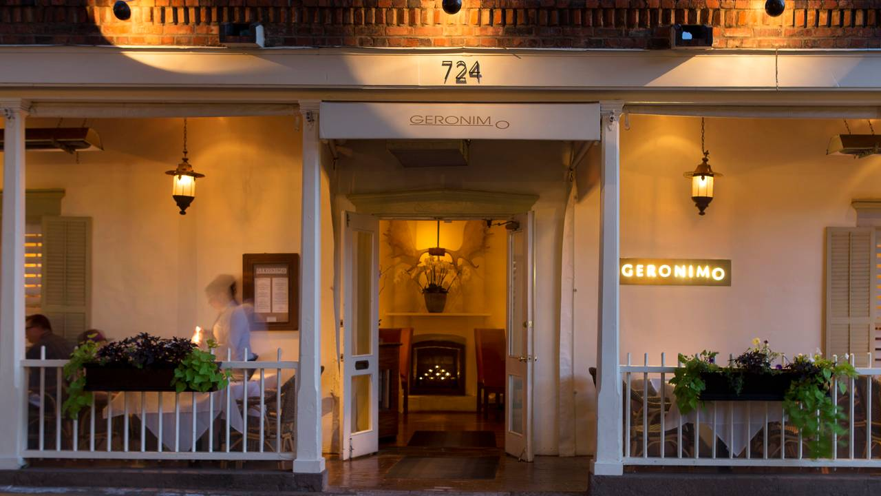Geronimo Restaurant Santa Fe Nm