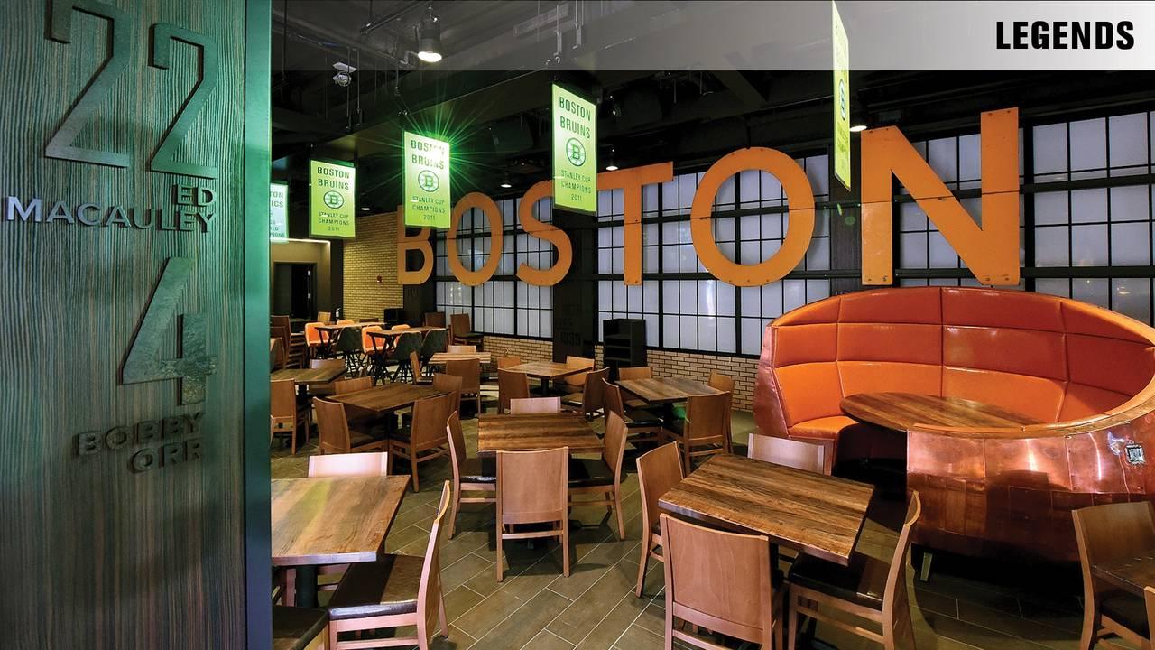 TD Garden - Legends Restaurant - Boston, MA   OpenTable