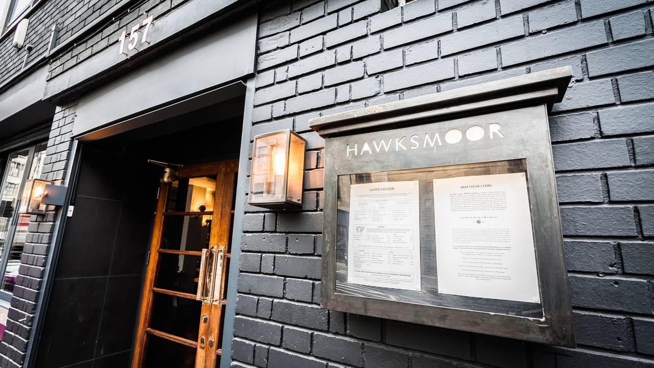 Hawksmoor Spitalfields Restaurant London Opentable Marjan Syrup
