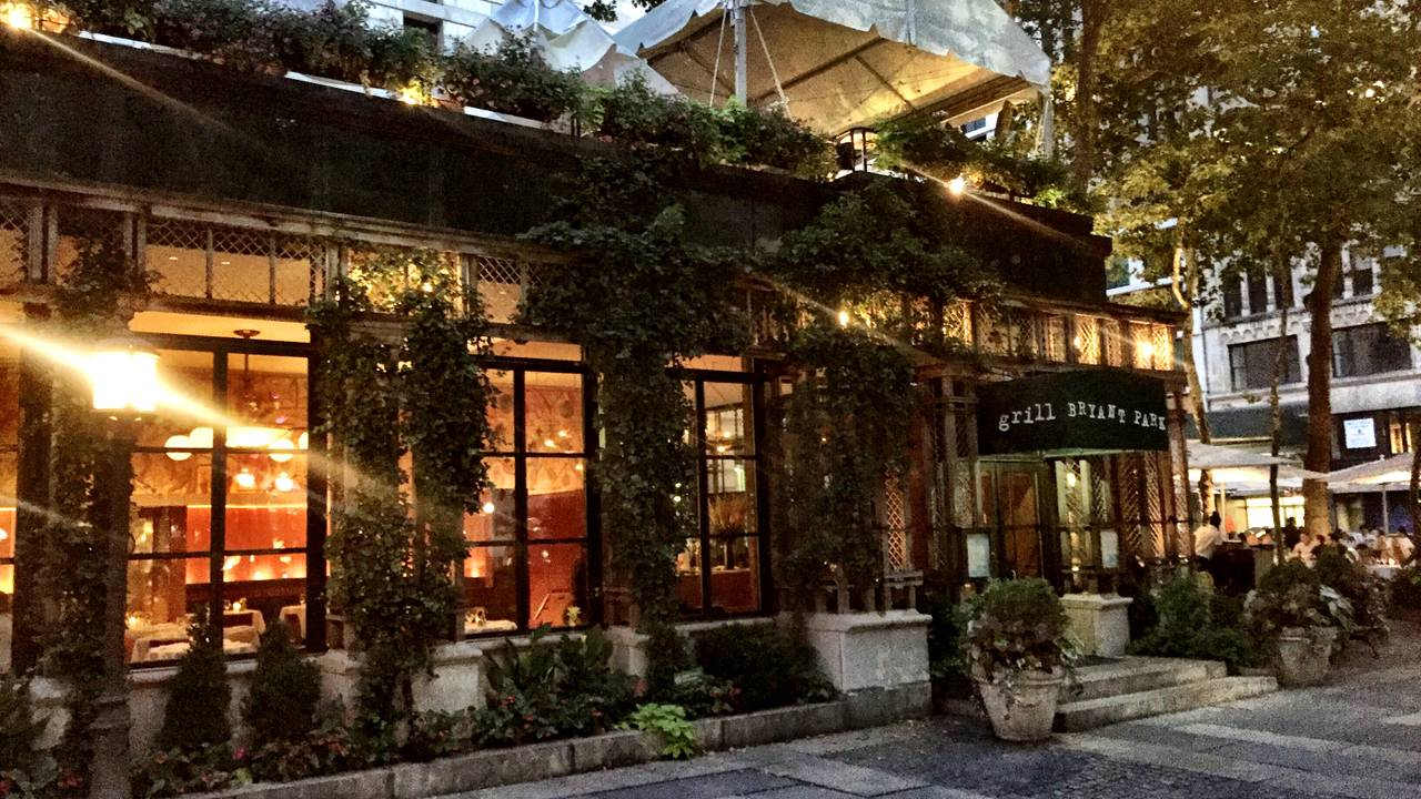 Bryant Park Grill Restaurant - New York, NY | OpenTable