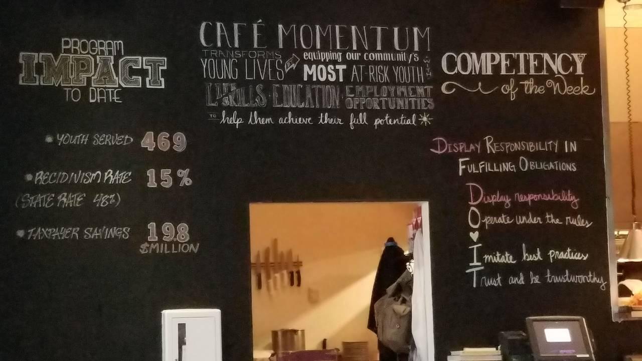 cafe momentum restaurant dallas tx opentable